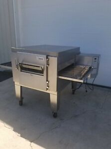 "Lincoln Impinger 1450 Single Deck Conveyor Pizza Oven **Belt Width 32""**"