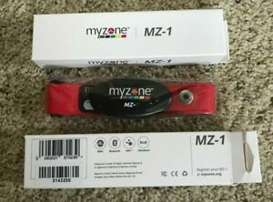 Myzone MZ-1 Heart Rate Monitor - NEW - includes facility code - heart monitor