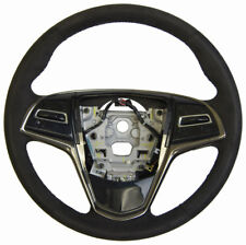 2014 Cadillac CTS Steering Wheel Black Suede W/O Paddle Shift New OEM 23193054