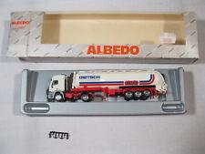 Herpa/Albédo Iveco Réservoir semi-remorque Dietsch Transporteur dans neuf dans sa boîte 1:87 h403