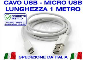 USB Cable White Tearproof Flexible Silicone Soft MICRO USB 2.0 Sync