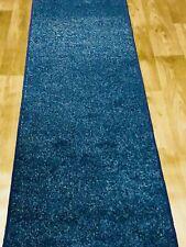 New Carpet Runner Ocean Blue Wexford  6ft X 2ft