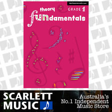 EasiLEARN Theory Fundamentals Grade 1 ( One / First ) Book *BRAND NEW* For AMEB