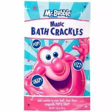 Mr. Bubble Magic Bath Crackles 1.05 Oz, Lot of 5 Packs, NEW