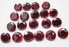 Gemas sueltas de zirconita o circonita color principal rojo