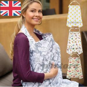 Mum Breastfeeding Nursing Cover Up Baby Poncho Shawl Udder Cotton Blanket
