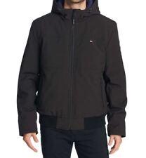 Tommy Hilfiger Softshell Bomber Jacket, Black, Size L