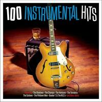100 INSTRUMENTAL HITS 4 CD THE SHADOWS THE CHAMPS THE TORNADOS
