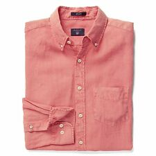 GANT Linen Regular Casual Shirts & Tops for Men