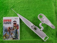 wii RAPALA PRO BASS FISHING + NEW ROD Attachment Nintendo PAL UK Version