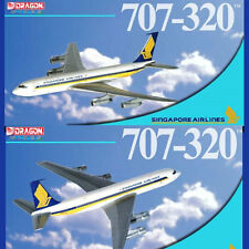 Dragon Wings 55809 Boeing 707-320 Singapore Airlines 9V-BEY w/ Collector Tin Ltd