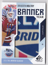 16-17 Upper Deck Braden Holtby Banner Year 2015 NHL Winter Classic Capitals 2016