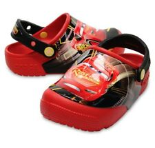Disney Cars 3 Light-Up Crocs Lightning McQueen Cars Red Black Clogs Kids Size 2