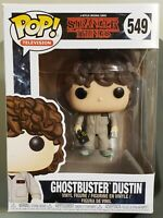 """GHOSTBUSTERS DUSTIN """"Stranger Things"""" Funko POP! (Television) #549"""