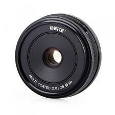 Objektiv Meike 28mm f/2.8 Lens, Canon EF-M DSLR, Weitwinkelobjektiv