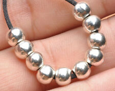 50pcs Tibetan Silver Charms loose spacer beads fit Jewelry Findings 5.5mm