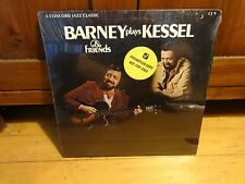 BARNEY KESSELL & FRIENDS PLAYS KESSELL-CONCORD JAZZ PROMO 1975 SEALED NEW