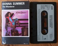 DONNA SUMMER - THE WANDERER (GEFFEN K499124) 1980 EUROPE CASSETTE TAPE EX COND!