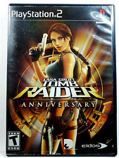 Tomb Raider Anniversary (PS2) Complete - Clean,Tested & Fast Shipping