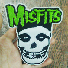 Misfits Embroidered Sew Iron on Patch Badge Punk Rock Metal