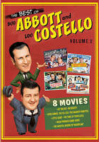 The Best of Bud Abbott  Lou Cosetello: Volume 2 (DVD, 2015, 4-Disc Set)