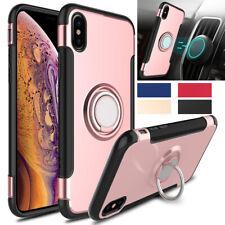 Para iPhone 11 Pro X Xr Xs Max 8 7 6 caseswill Resistente Tipo Armadura Anillo De pie Estuche Cubierta