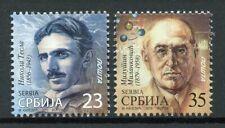Serbia Stamps 2019 MNH Nikola Tesla & Milutin Milankovic Famous People 2v Set
