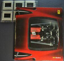 1999 Ferrari 360 Modena Prestige Brochure English Italian Text Nice Original 99