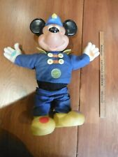 New listing Vintage Walt Disney Mickey Mouse Squeeze Sound Doll circa 1970's