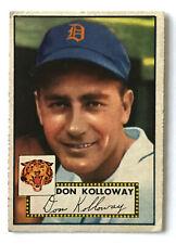 1952 Topps Baseball Card • Don Kolloway • #104