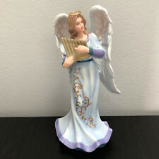 "Thomas Kinkade Nativity Heaven's Melody Angel Hawthorne Village 7"""