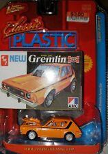 JOHNNY LIGHTNING CLASSIC PLASTIC 1971 AMC GREMLIN FUNNY CAR WHITE LIGHTNING MOC