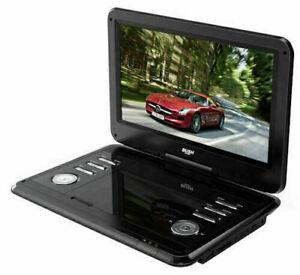 Bush 12 Inch Portable In - Car DVD Player - Black - USB PORT - Swivel LCD screen