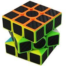 FC MXBB 3X3 Magic Cube Carbon Fiber Sticker 3X3X3 Speed Cube 56mm - Brain Teaser