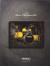 #MISC-0318 - 2007 MAPEX DRUMS musical instrument catalog