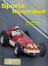 1961 (May 29) Sports Illustrated, magazine, Auto Racing, Indianapolis 500 ~ Good