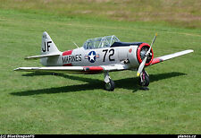 "1/4 Scale AT6 TEXAN  101""  Giant Scale RC AIrplane Digital PDF  Plans   on a CD"