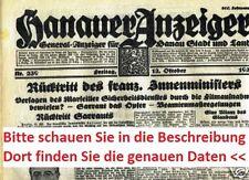 1934 1935 1937 1939 40 1941 cumpleaños periódico 83. 82. - 76. regalo de cumpleaños