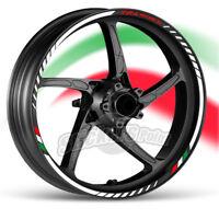 kit Adesivi moto BENELLI TRK 502X strisce RACING9 cerchi ruote stickers label