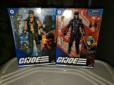 GI JOE CLASSIFIED COBRA COMMANDER + GUNG HO LOT ??