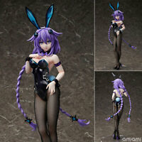 Anime Hyperdimension Neptunia Purple Heart Bunny Ver.1/4 PVC Figure N B