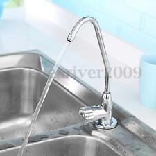 "1/4"" Tubing Water Faucet Tap ABS Plating Water Filter Purifier Drinking Water"