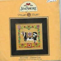Clarissa Cow Jim Shore Mill Hill Counted Cross Stitch Kit JS14-8502 New