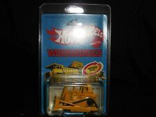 Hot Wheels Workhorses 1979 Cat Bulldozer Sealed on Card