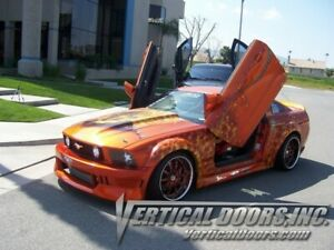 Vertical Doors - Vertical Lambo Door Kit For Ford Mustang 2005-10 -VDCFM0510