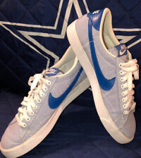Nike Men'S Tennis Classic Ac Shoes Size 8 white blue 377812 148
