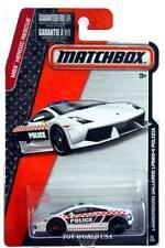 2015 Matchbox #61 Mbx Heroic Rescue Lamborghini Gallardo Lp560-4 Polizia