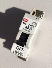 MEM AB45S2 45A 45 AMP Type 2 M6 MCB Circuit Breaker