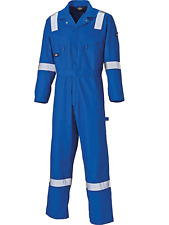 Royal WD2279LW Lightweight Cotton Hi Viz Boilersuit Overalls Coverall Small