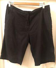 Women's Black Knee Length Shorts Size 12